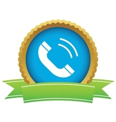 Calling certificate icon vector