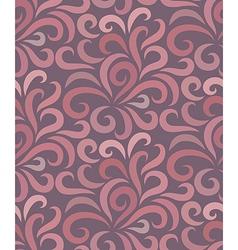 Swirl shape pattern seamless vector image vector image