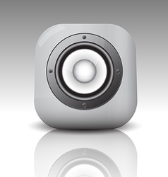 Audio speaker3 vector