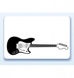 Music business card vector
