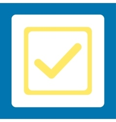 Checkbox icon vector