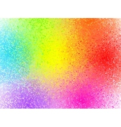 Rainbow colors sprayed paint abstract vector