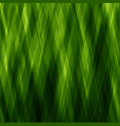 abstract diagonal background green mosaic pattern vector image