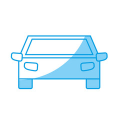 Pictogram car icon vector