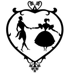 valentine victoria vector image