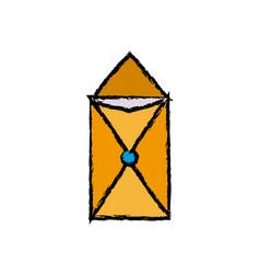Email envelope communication note notice symbol vector