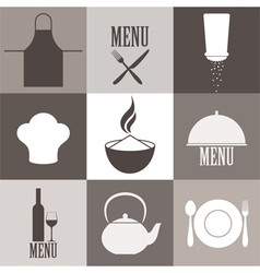 Cooking Icon Set vector image
