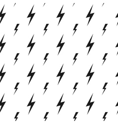 Lightning bolts thunderbolts seamless vector