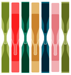 background color bottle vector image