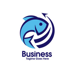fresh fish export vector image