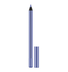 lilac realistic eyeliner with cap vector image vector image