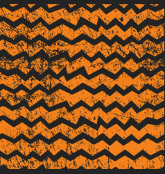 Seamless halloween chevron pattern black and vector