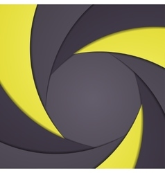 Abstract background like shutter aperture vector image vector image