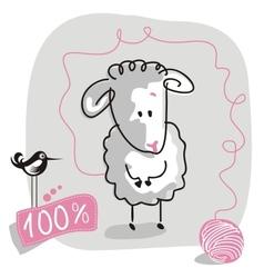 DoodleSheep vector image