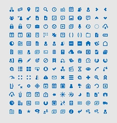 156 web and mobile application icons vector