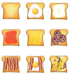 Toast 10 vector