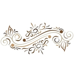 Doodle color abstract flower ornament vector