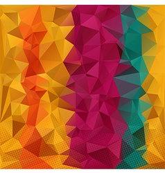 Color strips pologon vector