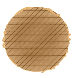 stroopwafel vector image