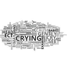 What to do when your kids cry text word cloud vector