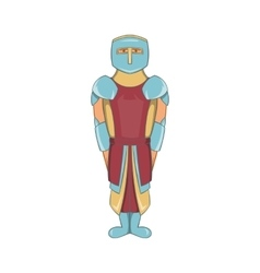 Ancient spartan gladiator legionnaire icon vector