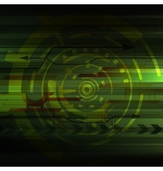 Abstract digital technology background vector image vector image