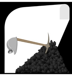Mine vector image vector image