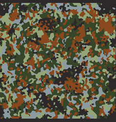 Belgian flectarn camouflage seamless patterns vector