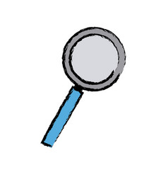 Magnifier search loupe discovery find zoom vector