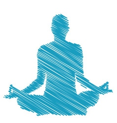 Meditation and hypnosis vector