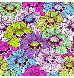 motley pattern vector image vector image