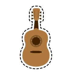music instrument design vector image
