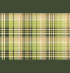 Green beige pixel check fabric texture seamless vector