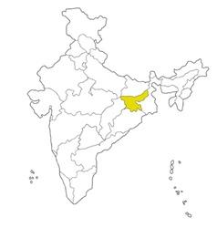 Jharkhand vector