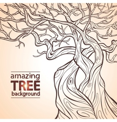 Tree amazing vector image