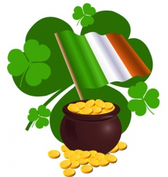 St patrick's day design vector