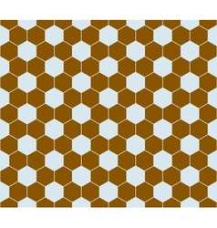 Hexagon pattern seamless vector image