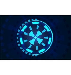 Sci fi futuristic user interface hud vector