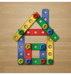 Constructorhouse vector image