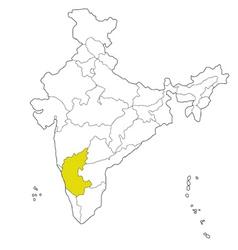 Karnataka vector