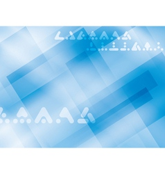 light blue background with rectangles vector image vector image