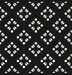 subtle monochrome geometric seamless pattern vector image vector image