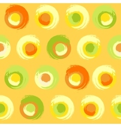Grunge multicoloured circles vector