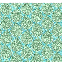Floral seamless pattern in renaissance style vector image