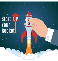 Startup Business Concept vector image vector image