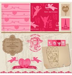 Love set of design elements vector