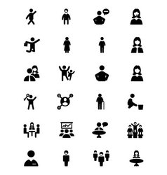 People icons 2 vector