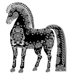 horse123 vector image vector image