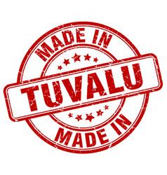 Made in tuvalu vector