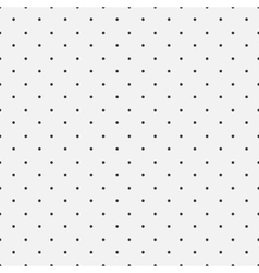 Simple dot pattern seamless background vector image